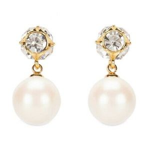 ♠️ Kate Spade Drop Pearl Earring NWT AUTHENTIC